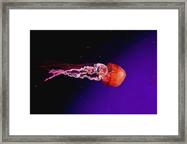 Cosmic Jelly 2 Framed Print
