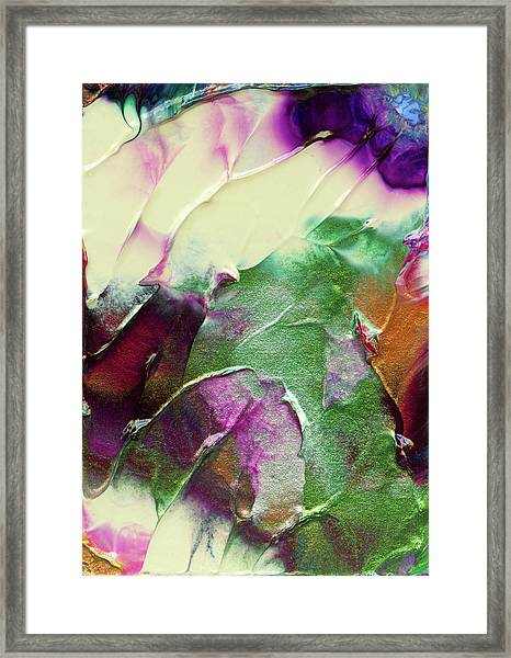 Cosmic Pearl Dust Framed Print