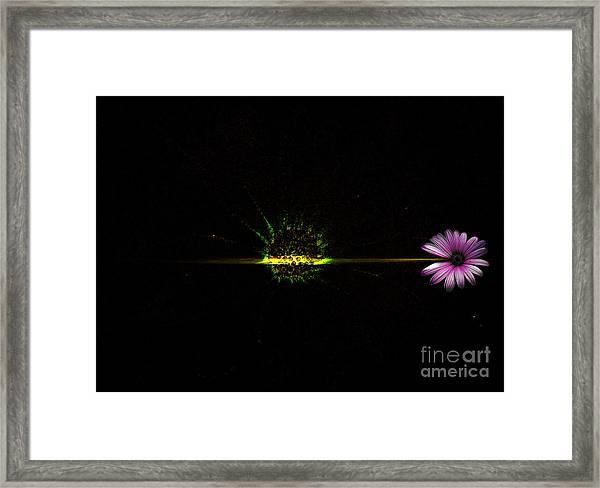 Cosmic Splash Framed Print