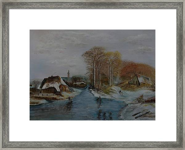 Cottage Country - Lmj Framed Print