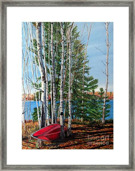 Cottage Country 2 Framed Print