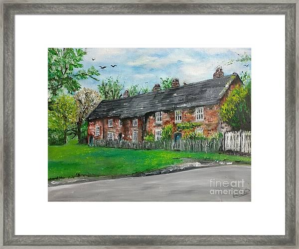 Cottages Framed Print
