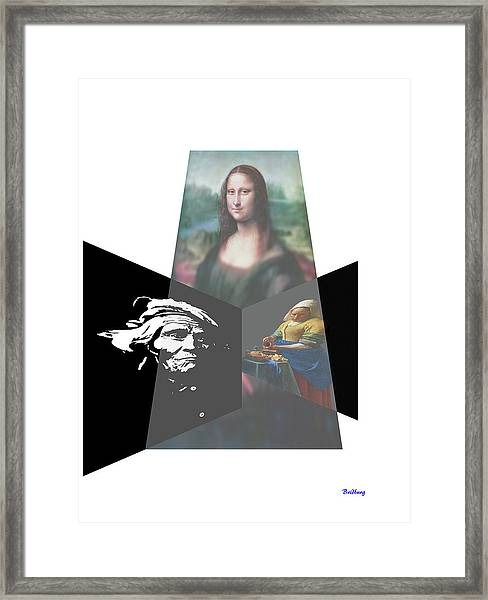 Countenance Framed Print