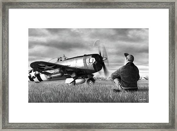 Counting Them Out Framed Print by Chris Gray