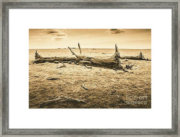 Countrified Australia Framed Print