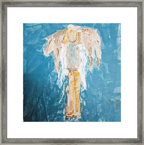 Country Angel Framed Print