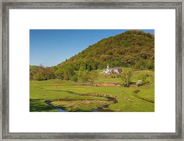 Country Church  Framed Print