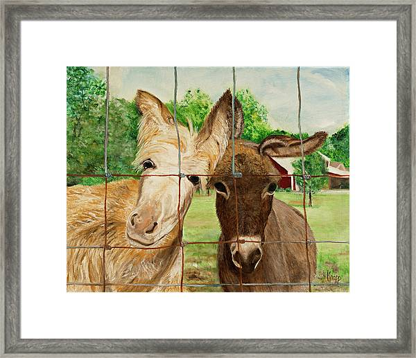 Country Companions Framed Print