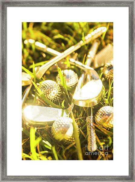 Country Golf Framed Print