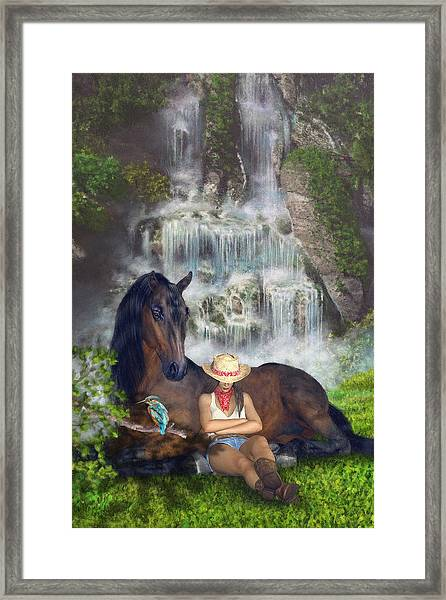 Country Memories 1 Framed Print