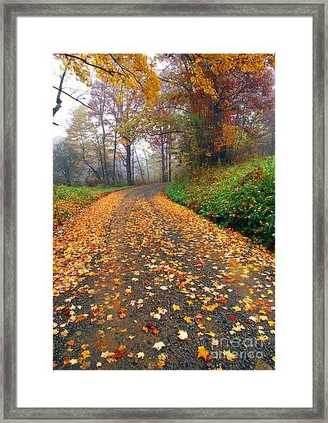 Country Roads Take Me Home Framed Print