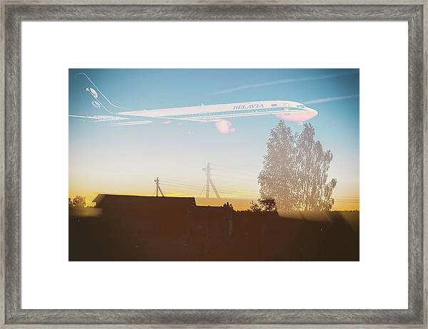Countryside Boeing Framed Print