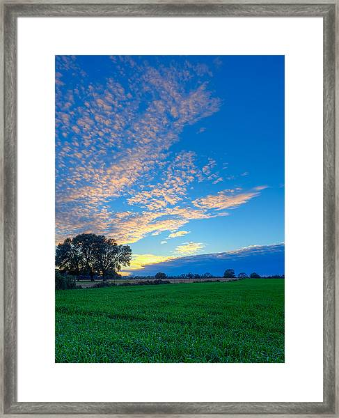Countryside Dreams Framed Print
