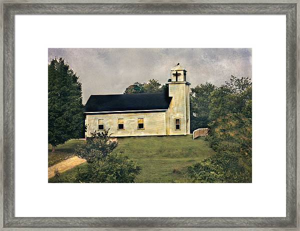 County Chruch Framed Print
