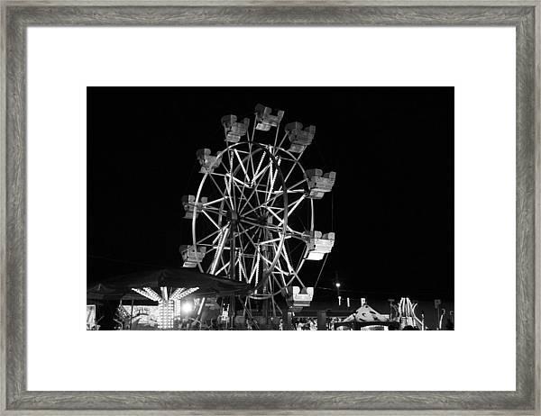 County Fair Fun Framed Print