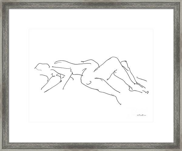 Couples Erotic Art 4 Framed Print