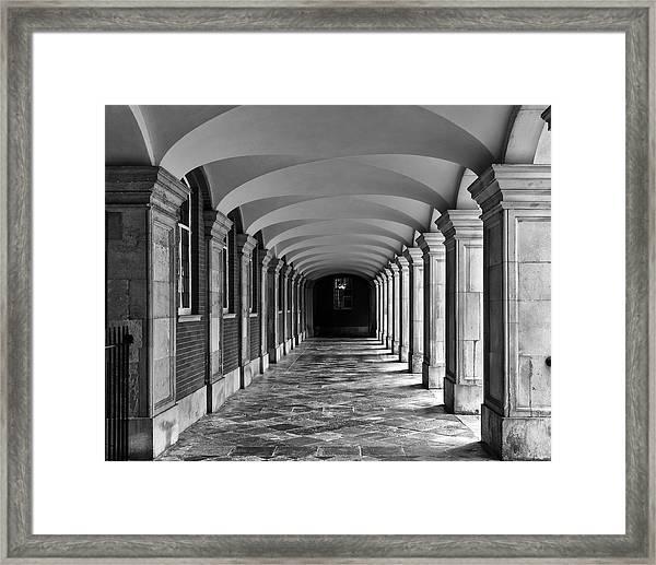 Court Cloister Framed Print