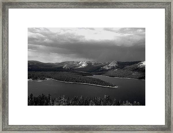 Courtright Domes Framed Print