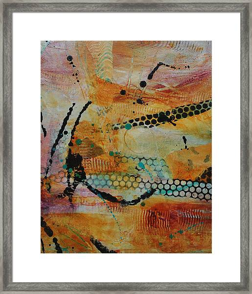 Courtship 3 Framed Print