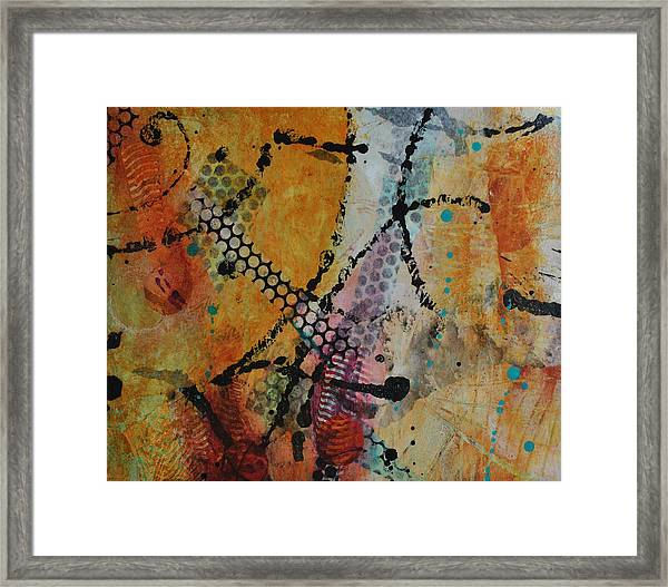 Courtship 4 Framed Print
