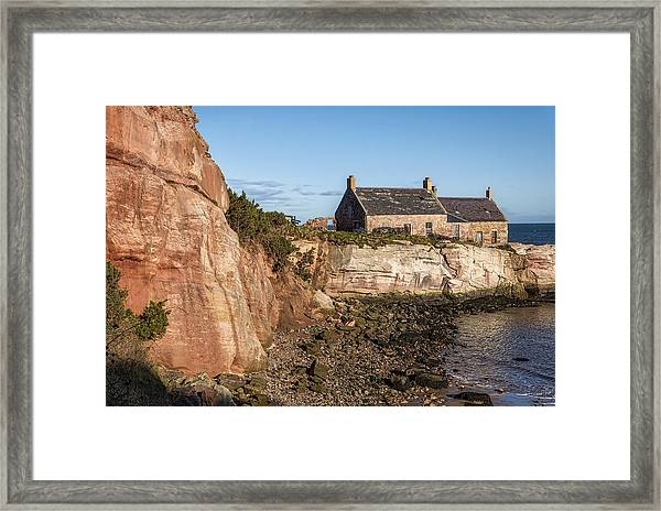 Cove Harbour Framed Print