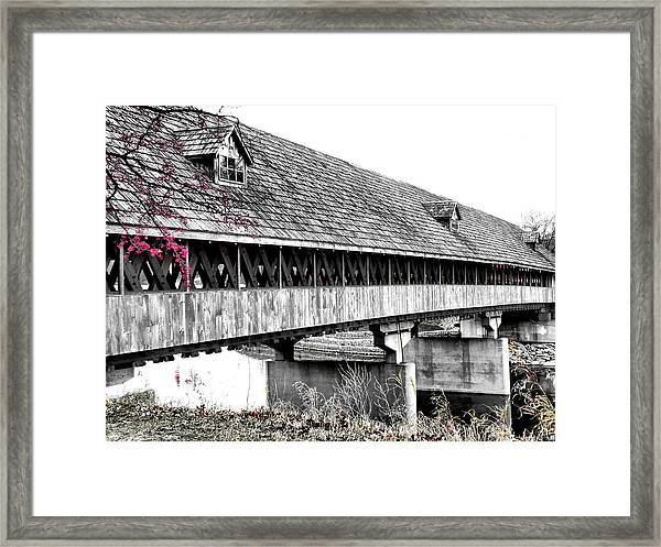 Covered Bridge 2 Framed Print