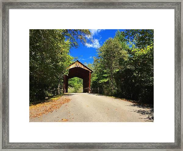 Bay's Bridge Framed Print