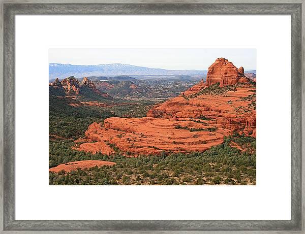 Cow Pie Mesa Framed Print