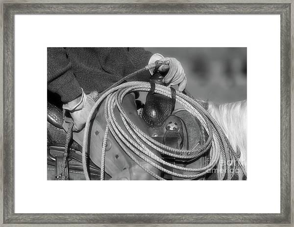 Cowboy Life Framed Print