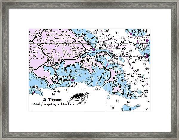 Cowpet Bay Framed Print