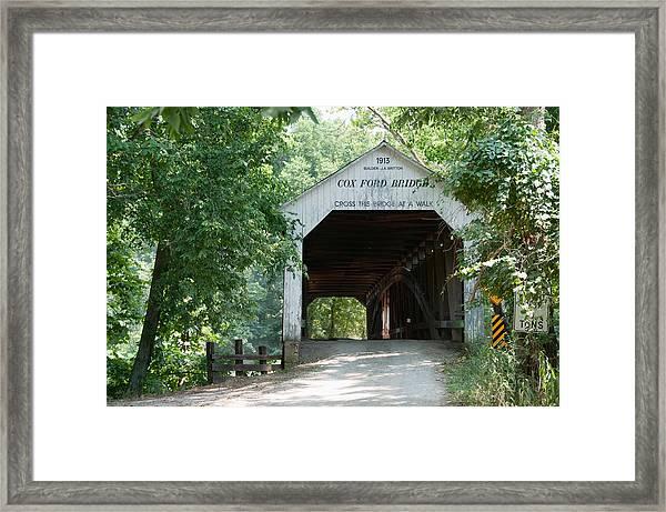 Cox Ford Bridge Framed Print