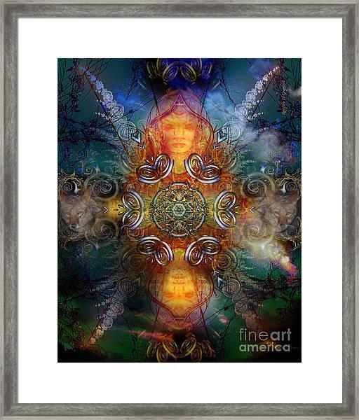Coyote Dance Framed Print