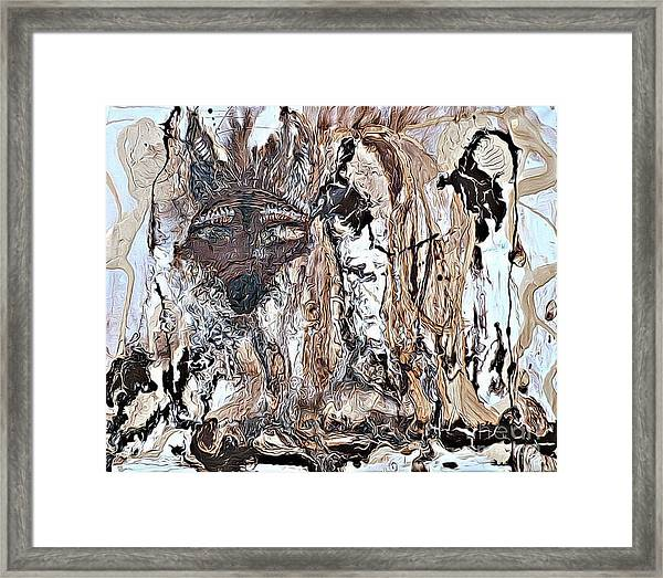 Coyote The Trickster Framed Print