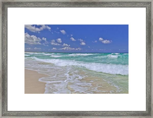 Cozumel Paradise Framed Print