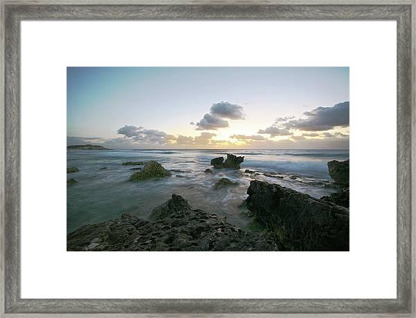 Cozumel Sunrise Framed Print