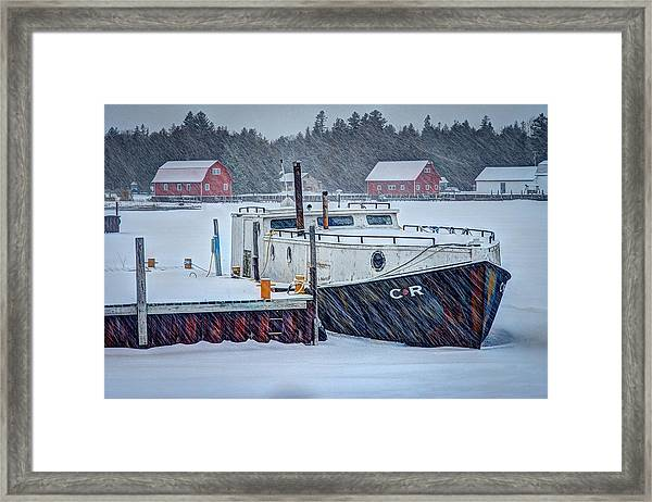 Cr Tug Framed Print