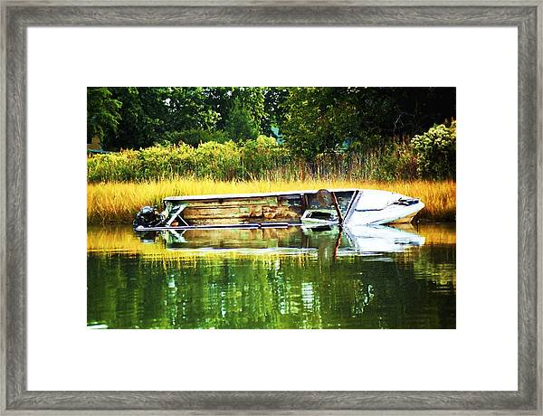 Crab Boat Retired Framed Print
