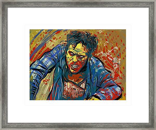 Crabby Joe Framed Print
