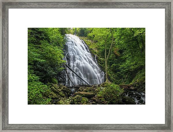 Crabtree Falls Framed Print