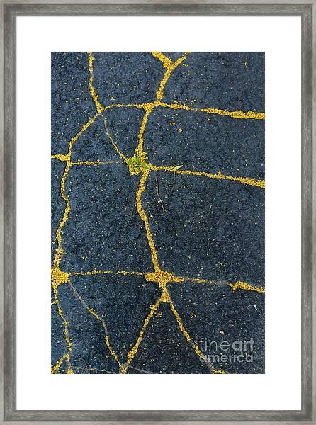Cracked #1 Framed Print