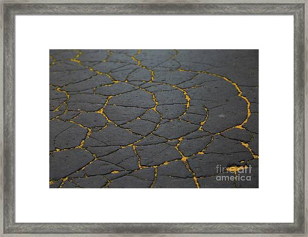Cracked #11 Framed Print