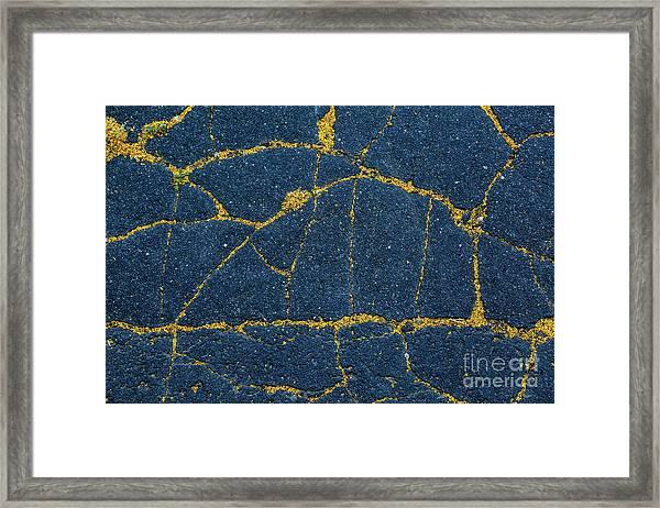Cracked #5 Framed Print