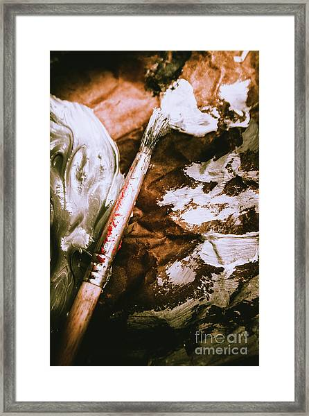 Craft And Arts Framed Print