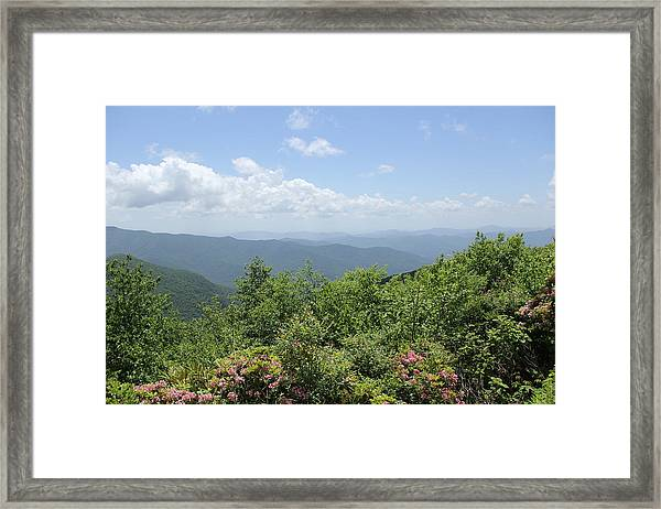 Craggy View Framed Print