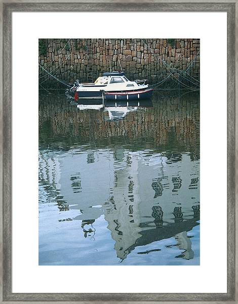 Crail Reflections II Framed Print