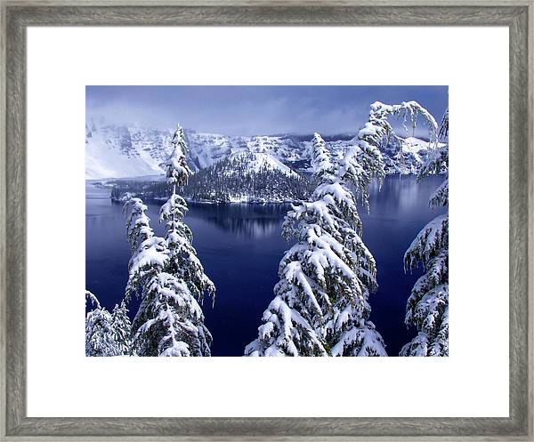 Crater Lake Framed Print