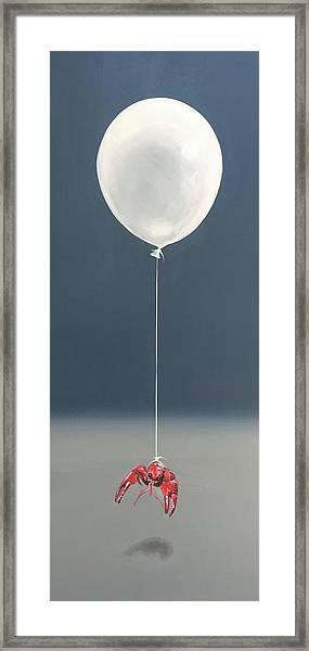 Crawfish Rising Framed Print