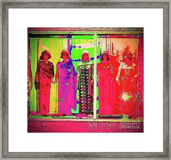 Crayon Box Framed Print