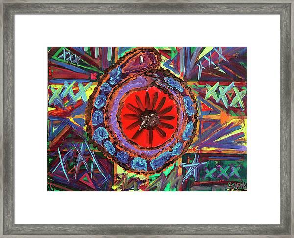 Crazil Framed Print