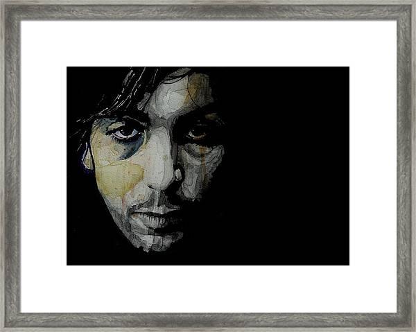 Crazy Diamond - Syd Barrett  Framed Print